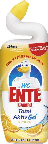 WC Ente Total Aktiv Gel Citrus