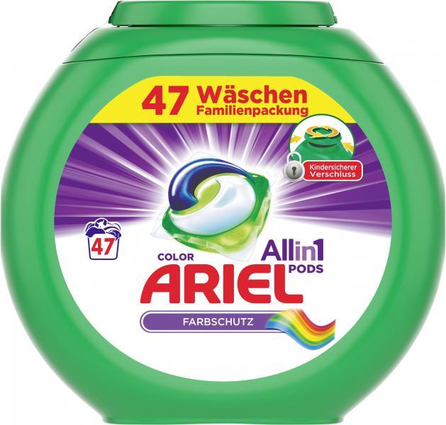Ariel All in 1 Pods Farbschutz