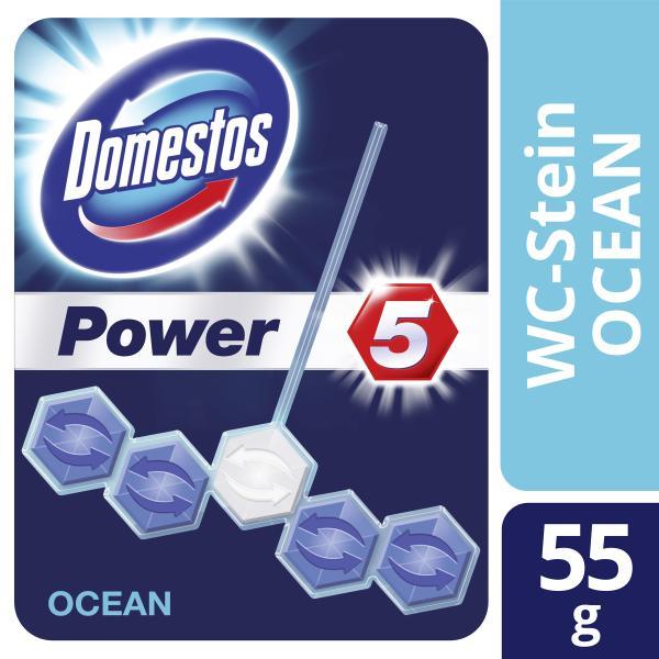 Domestos Power 5 WC-Stein Ocean
