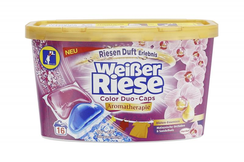 Weißer Riese Color Duo Caps Aromatherapie Malaysische Orchidee & Sandelholz