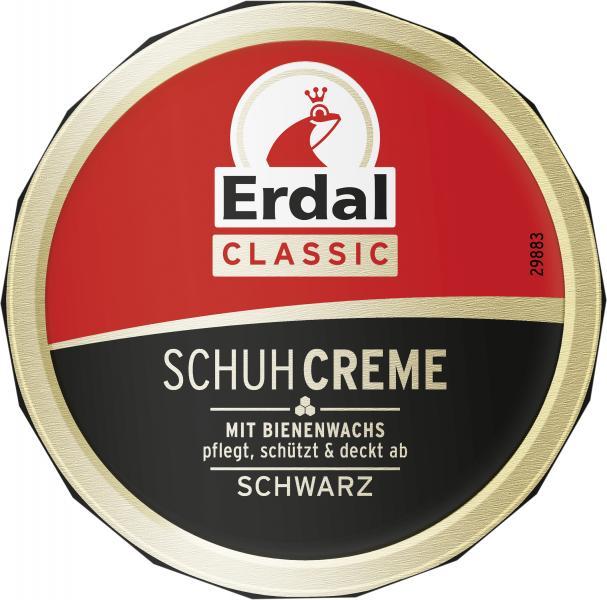 Erdal Schuhcreme Schwarz