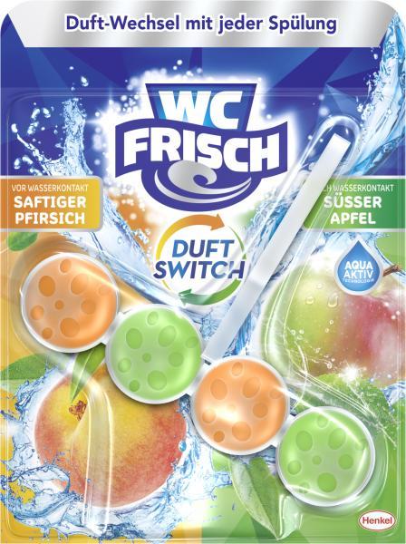 WC Frisch Duft Switch Saftiger Pfirsich & Süßer Apfel