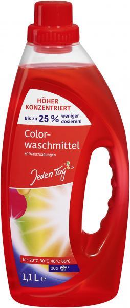Jeden Tag Colorwaschmittel flüssig