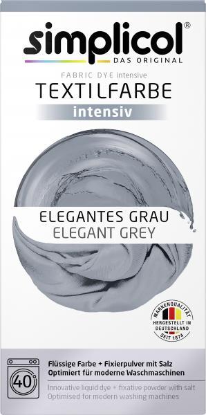 Simplicol Textilfarbe Intensiv Elegantes Grau