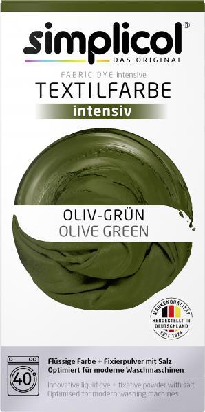 Simplicol Textilfarbe Intensiv Oliv-Grün