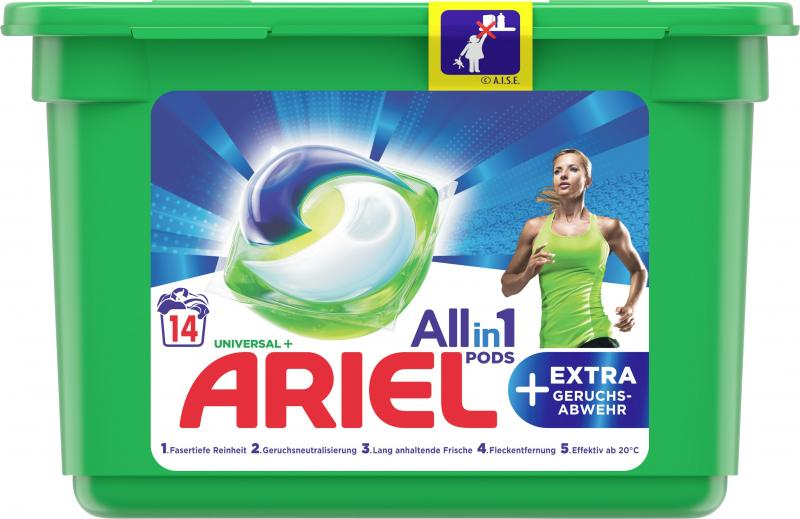 Ariel Univeral + Extra Geruchsstop All in 1 Pods 14 WL