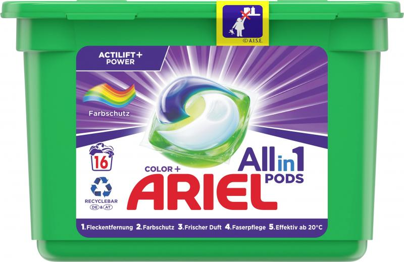 Ariel Color+ All in 1 Pods