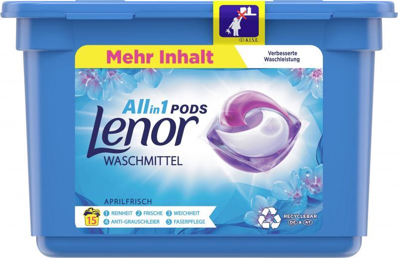 Lenor Allin1 Pods Aprilfrisch