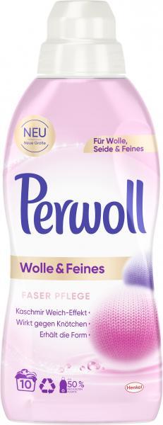 Perwoll Wolle & Feines Flüssig Faserpflege