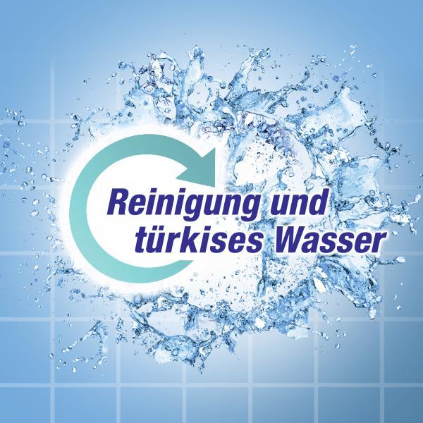 WC Frisch Kraft-Aktiv Duftspüler Türkis Meeresfrische