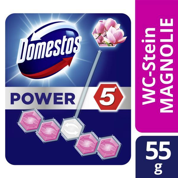 Domestos Power 5 WC-Stein Magnolie