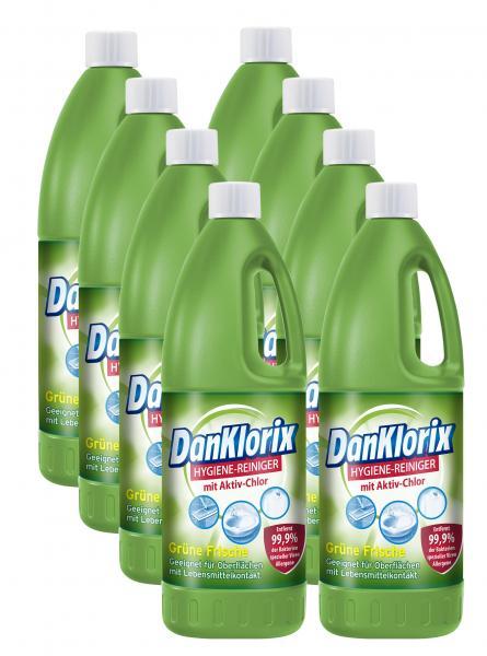 Dan Klorix Hygiene-Reiniger Grüne Frische