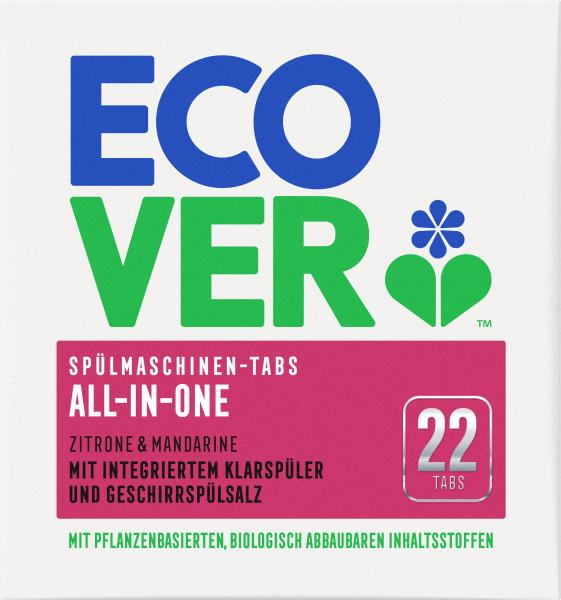 Ecover Spülmaschinen-Tabs All-in-One