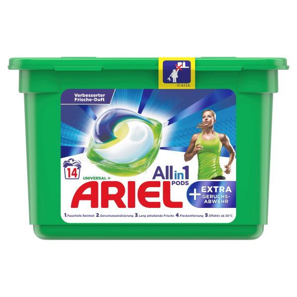 Ariel All-in-1 Pods +Extra Geruchsabwehr 14WL