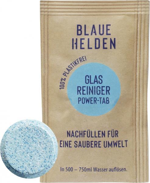 Blaue Helden Glasreiniger Power-Tab