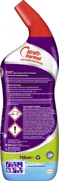 Bref Power WC-Kraftgel gegen Schmutz, Kalk & Verfärbungen