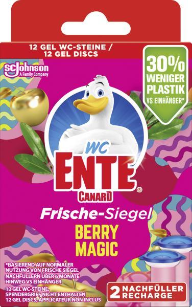 WC Ente Frische-Siegel Berry Magic Nachfüller