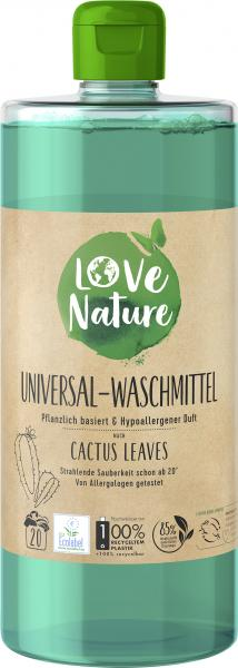 Love Nature Universal-Waschmittel Cactus Leaves