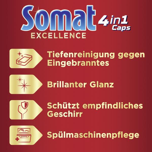 Somat Excellence 4in1 Caps XXL 48 Caps