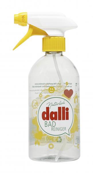 Dalli Bad-Reiniger Leerflasche