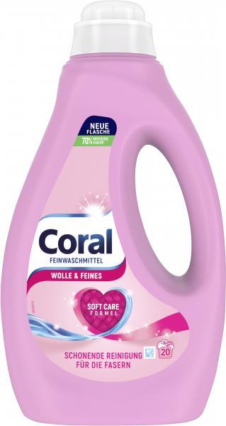 Coral Feinwaschmittel flüssig Wolle & Feines