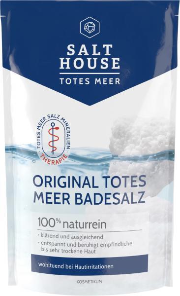 Salthouse Totes Meer Therapie Badesalz pur
