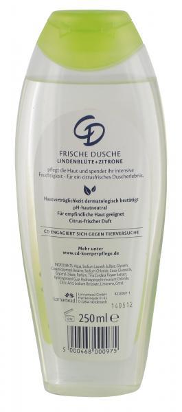 CD Frische Dusche Lindenblüte + Zitrone