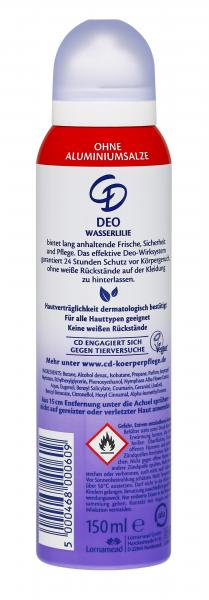 CD Deo Spray Wasserlilie