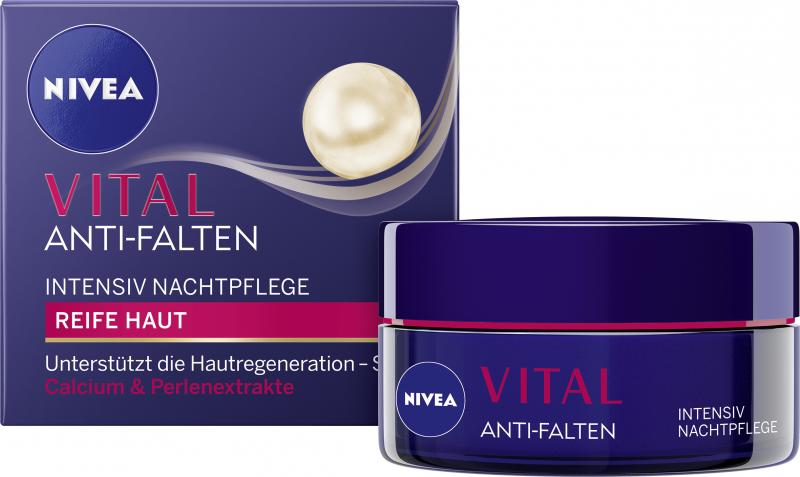 Nivea Vital Anti-Falten Intensive Nachtpflege Reife Haut