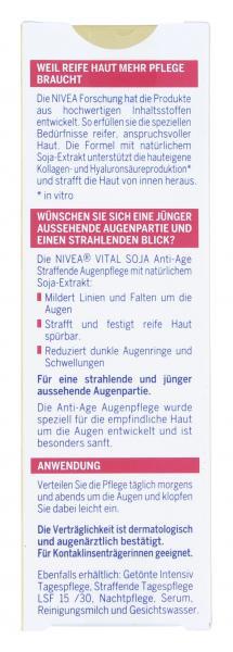 Nivea Vital Soja Anti-Age straffende Augenpflege