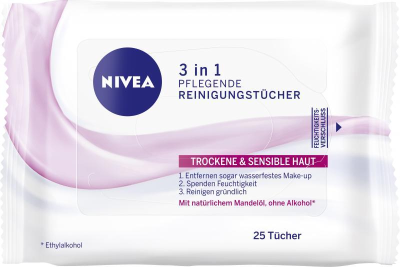 Nivea Aqua Effekt Pflegende Reinigungstücher
