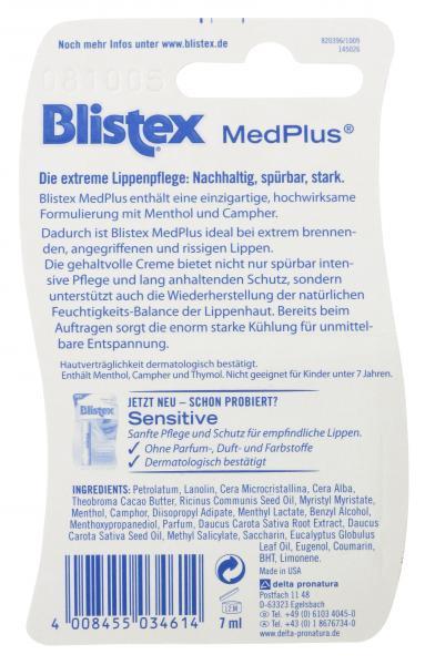 Blistex Lippenpflege MedPlus