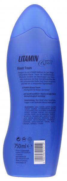 Litamin Wellness & Care Blauer Traum Pflege-Schaumbad