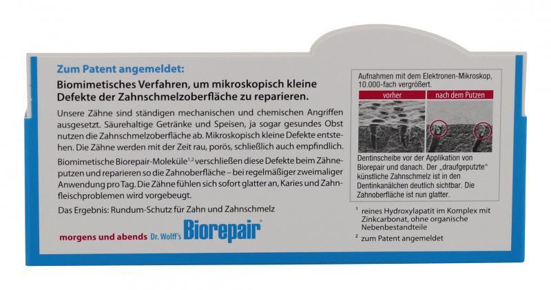 Dr. Wolff's Biorepair Zahncreme