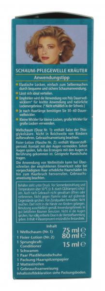 Schwarzkopf Poly Style Schaum-Pflegewelle Kräuter