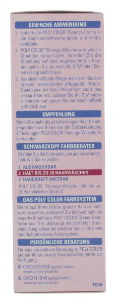 Schwarzkopf Poly Color Tönungs-Wäsche 16 mittelbraun