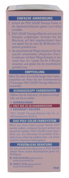 Schwarzkopf Poly Color Tönungs-Wäsche 20 kastanie