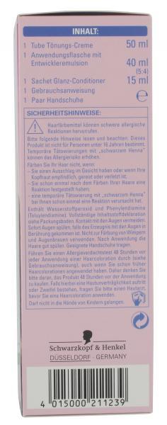 Schwarzkopf Poly Color Tönungs-Wäsche 23 hellbraun