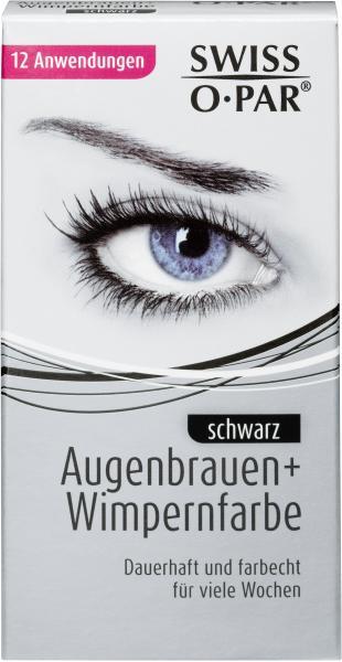 Swiss-O-Par Augenbrauen- und Wimpernfarbe schwarz