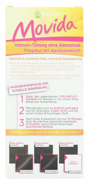 Garnier Movida Pflege-Creme Intensiv-Tönung 35 braun