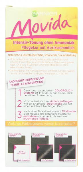 Garnier Movida Pflege-Creme Intensiv-Tönung 45 dunkelbraun