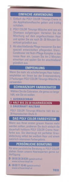 Schwarzkopf Poly Color Tönungs-Wäsche 33 schokobraun
