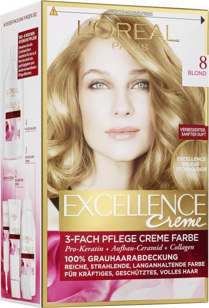 L'Oréal Excellence Creme 8 blond
