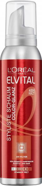 L'Oréal Elvital Color-Glanz Styliste Schaum