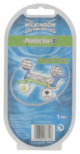 Wilkinson Sword Protector 3D Apparat + 1 Klinge