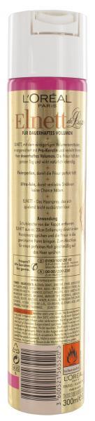 L'Oréal Paris Elnett de Luxe Haarspray dauerhaftes Volumen extra starker Halt