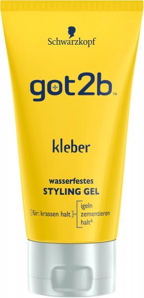 Schwarzkopf got2b Kleber wasserfestes Styling Gel