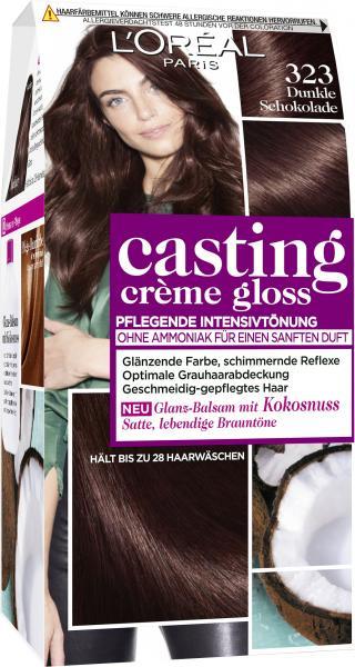L'Oréal Casting Crème Gloss 323 dunkle Schokolade