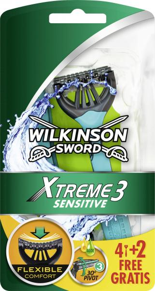 Wilkinson Sword Xtreme 3 sensitive Rasierer