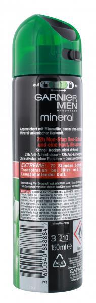 Garnier Men Mineral Extreme Deodorant Spray
